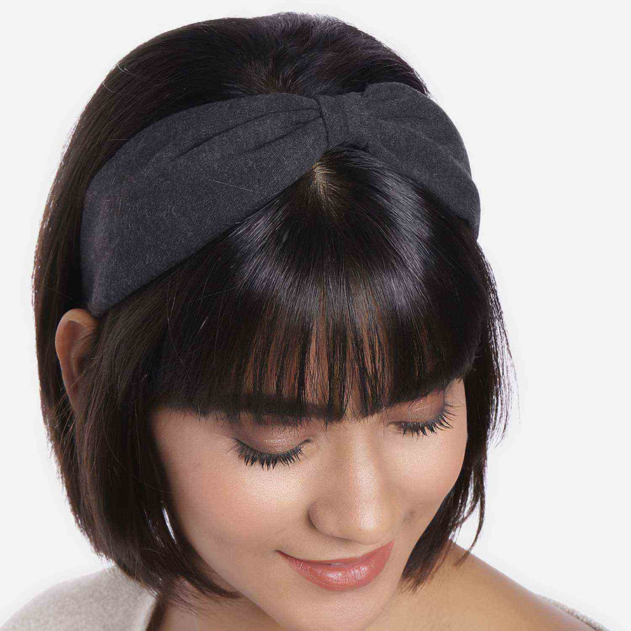 Betty Cooper In Charcoal Jersey Headband