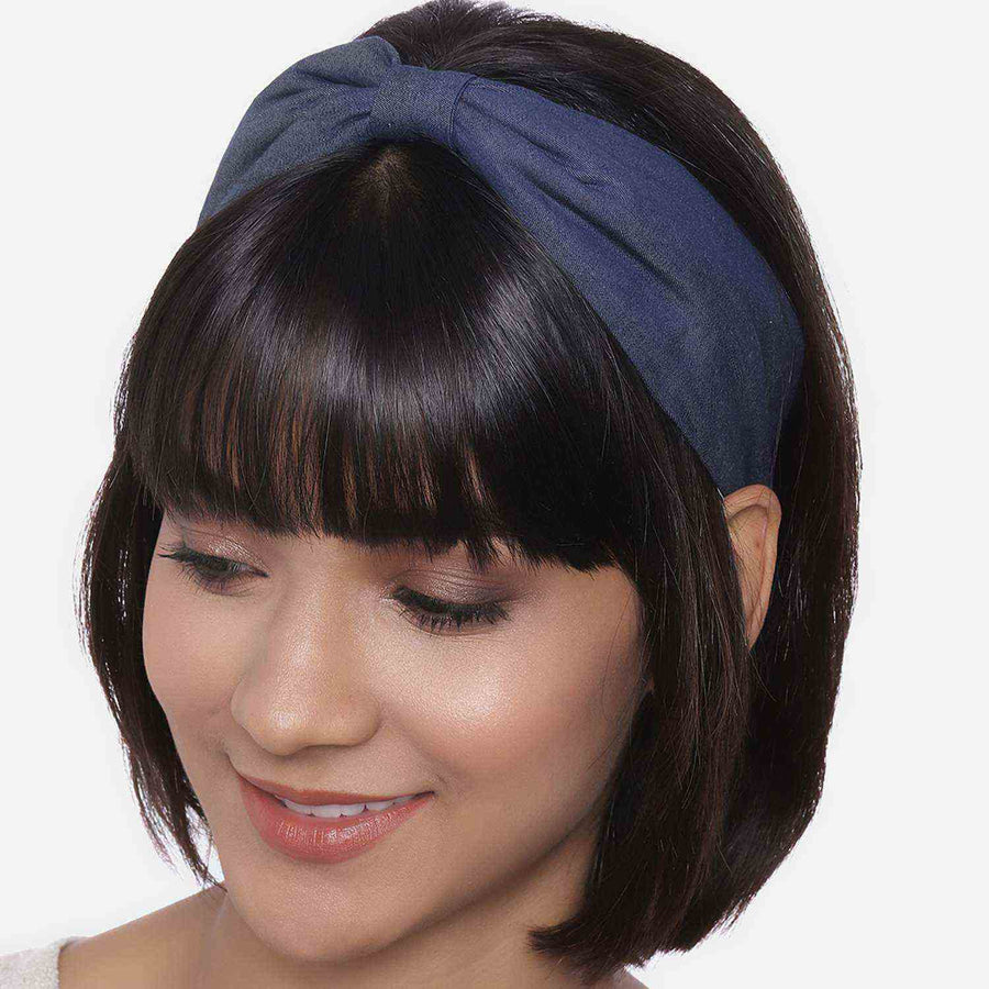 Betty Cooper In Darker Denim Headband