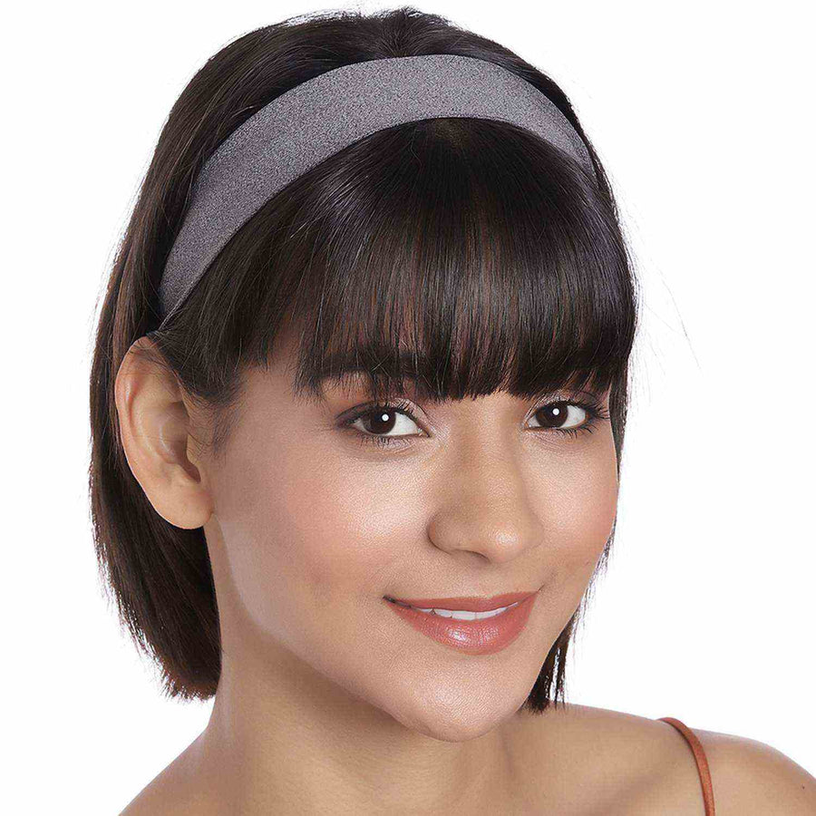 Lulu in Grey Performance Jersey Headband