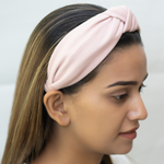 Load image into Gallery viewer, Blair Headband In Light Pink Jersey
