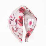 Load image into Gallery viewer, Veronica In Grey And Red Floral Print