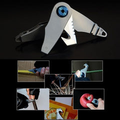 WorthWhile EDC Mini Foldable Knife Multifunction Keychain Tools  uses and functions