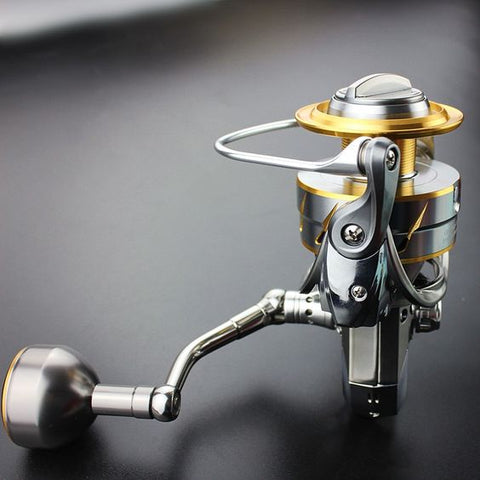 angler fishing reel