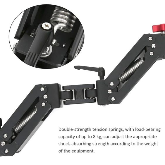 damping arm tension point