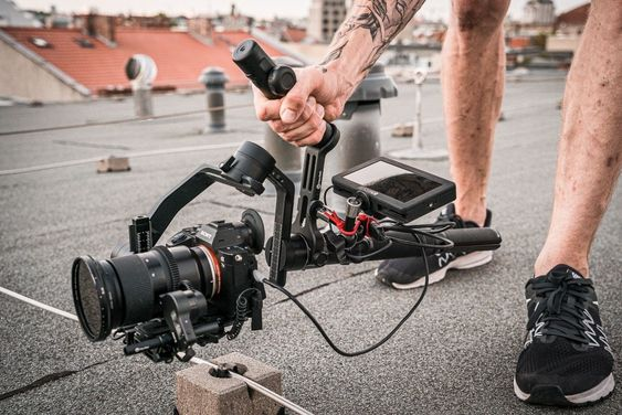 A4500 Camera stabilizer with Gimbal