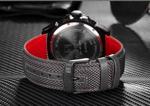 naviforce watch back view