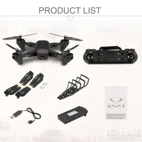 package contents for mini quadcopter drone