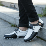 korean pea shoes black and white hue and shades