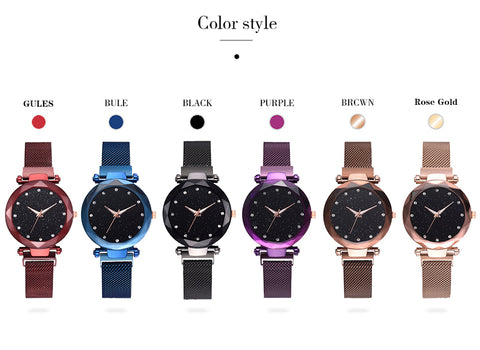 ladies watches color style