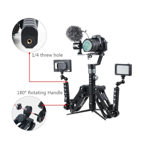 z axis holder for camera gimbal