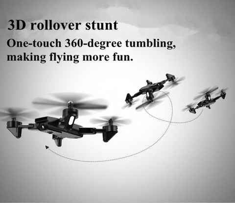 Rollover Maneuver Command Mini Quadcopter Drone