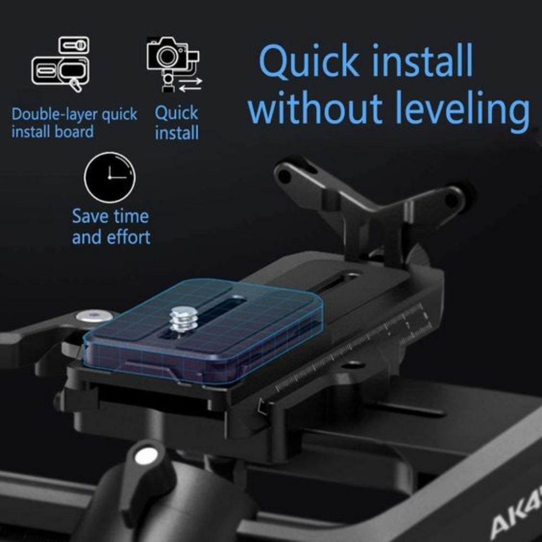 A4500 gimbal quick install quick release feature
