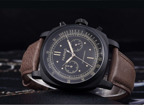 parnis Air Watches aviators military style pilot Watches