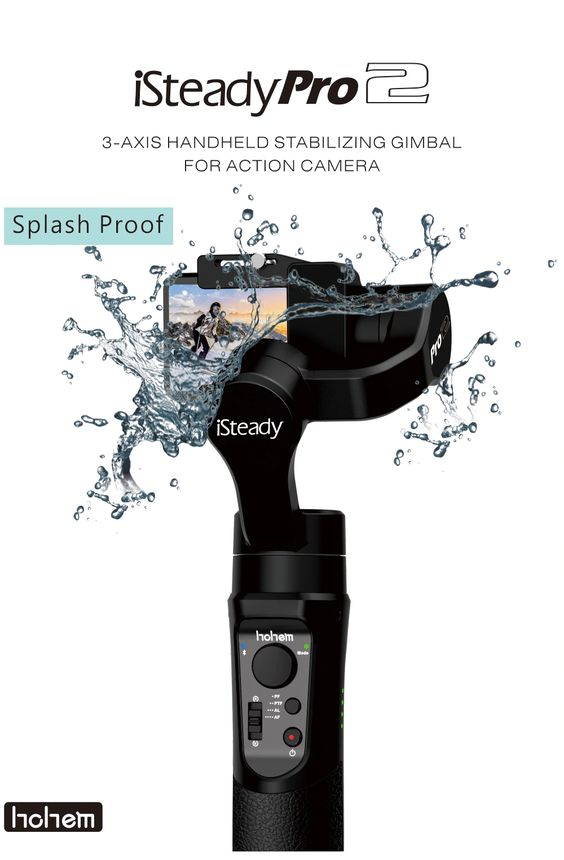 iSteady Pro 2 Gimbal Water Resistant feature