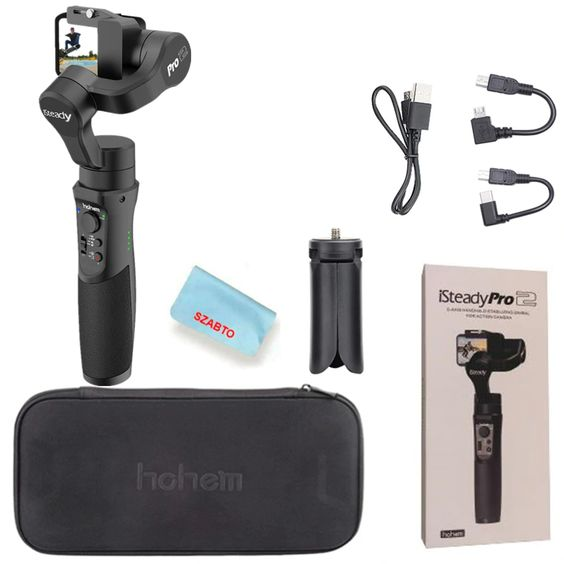 iSteady Pro Gimbal Package List