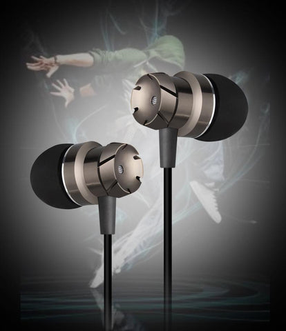 Wired stereo earphones