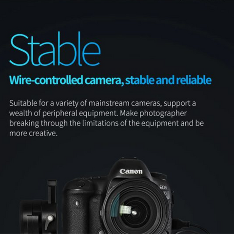 stable view gimbal feature