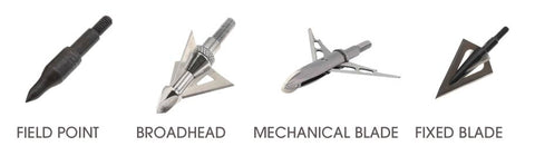 Different Arrow Heads Types