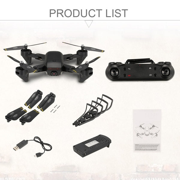 Quadcopter Drone package included items