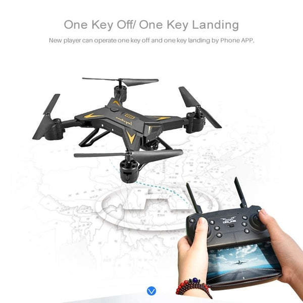 KY601S HD 1080P 500W Long Battery Life APP Control Helicopter RC Drone Aircraft Quadcopter Toy