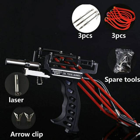 basic set B sling bow laser pointer and arrow clip