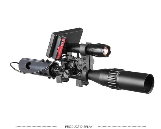 850nm Infrared IR Night Vision Rifle Scope with Waterproof LED