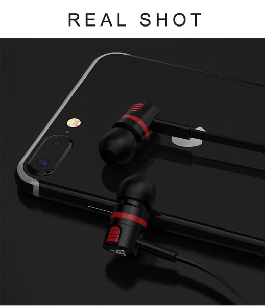 Simvict Earphone Subwoofer Noise Isolating Gaming Headset for iphone Xiaomi redmi pro earbuds