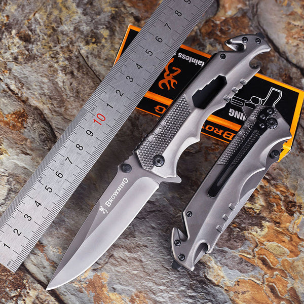 High Hardness Multi-function Folding Survival Knife