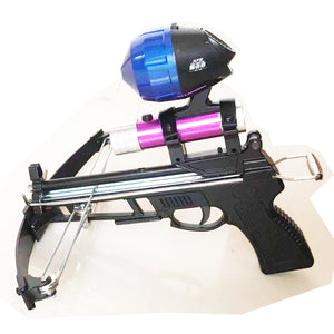 AMY Crossbow Slingshot with Sight-scope and Fishing Reel-hue&shades