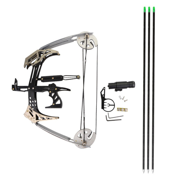 AMEYXGS Mini Compound Bow Kit and Arrow Set