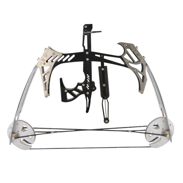 AMEYXGS Mini Compound Bow Kit and Arrow Set 25lbs Draw Weight for Fishing and Hunting-hue&shades