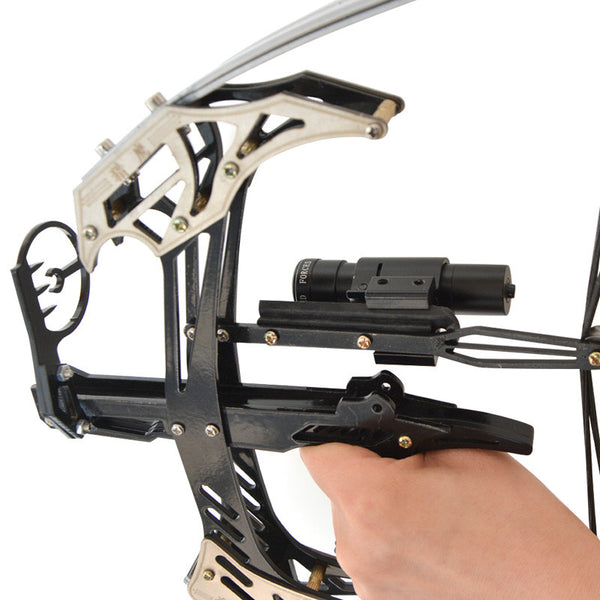 AMEYXGS Mini Compound Bow Kit and Arrow Set 25lbs Draw Weight