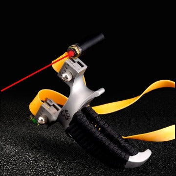 red dot pointer stainless steel slingshot