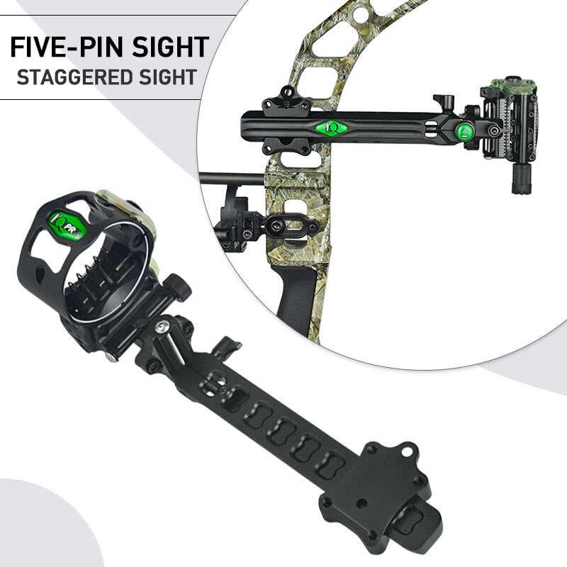 CUPID Micro Adjust 5 Pin Compound Bow Sight