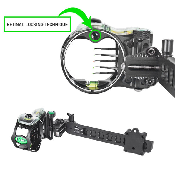 Cupid 5 pin micro adjust bow sight