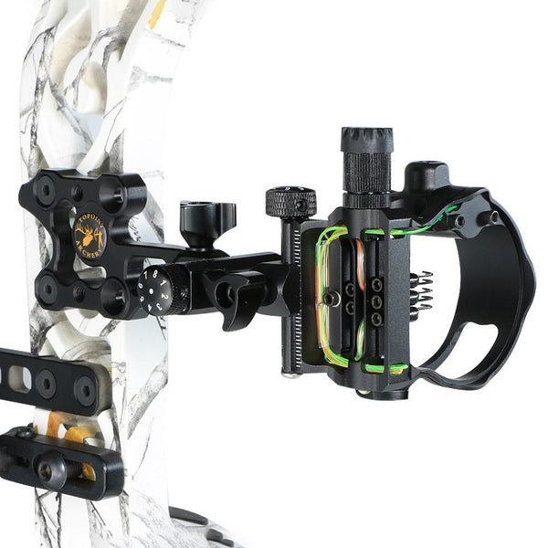 5 pin compound bow sight