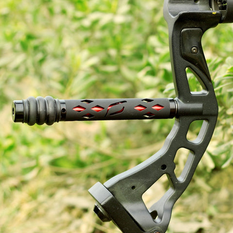Black Compound bow stabilizer