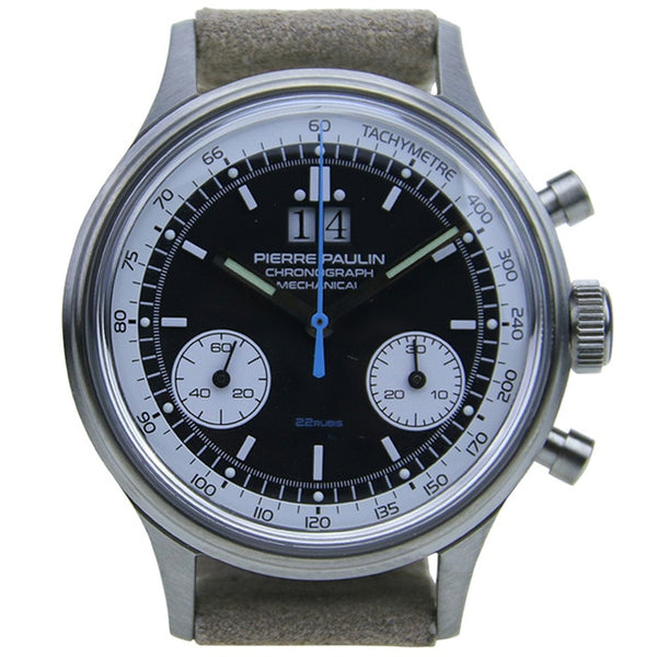 Pierre Paulin ST1901 chronograph Pilot AirWatches