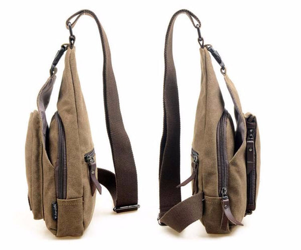 GLOWWORM Men Canvas Messenger Bags - hue and shades