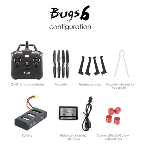 MJX bugs 6 Professional Racing Drone with 720