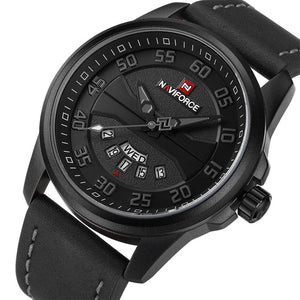 NAVIFORCE Casual Watches Men's Quartz Clock Sports Wrist Watch