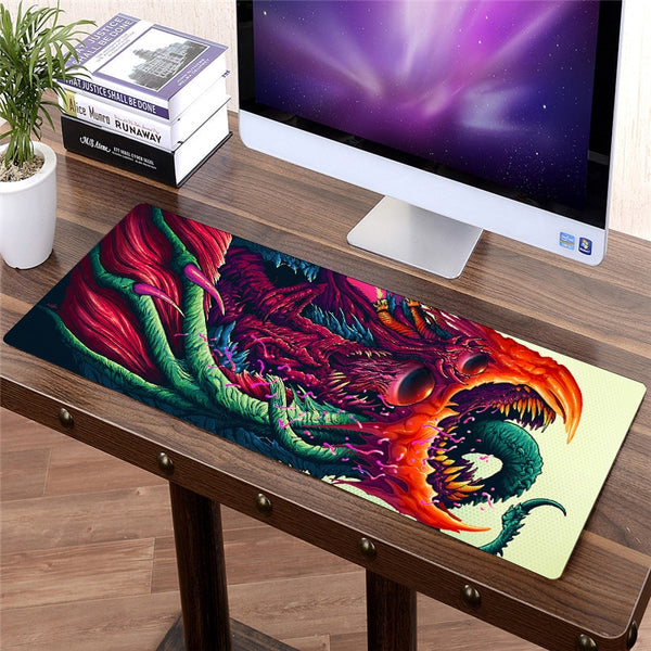 anime inspired Large gaming mouse pad