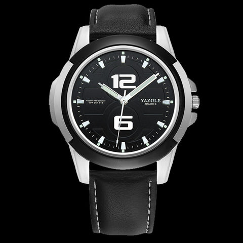 Yazole Luxury Minimalist Quartz Watches For Men