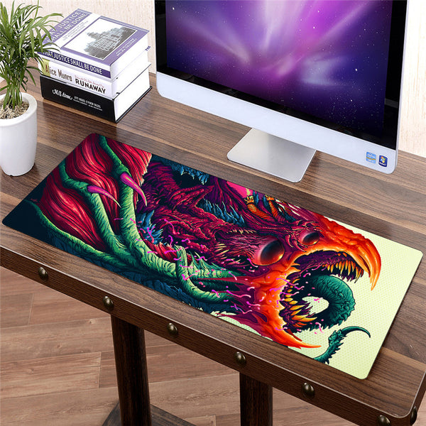anime design Large gaming mouse pad