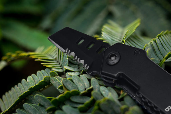 Nano Blade Utility Multi Pocket Knife Mini Key Chain - hue and shades