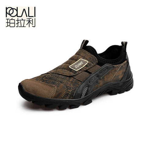 POLALI breathable men shoes shoes NX038
