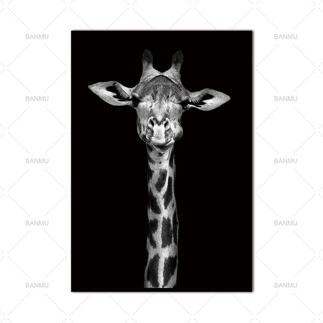 Animal Canvas Painting Wall art Picture for Living Room