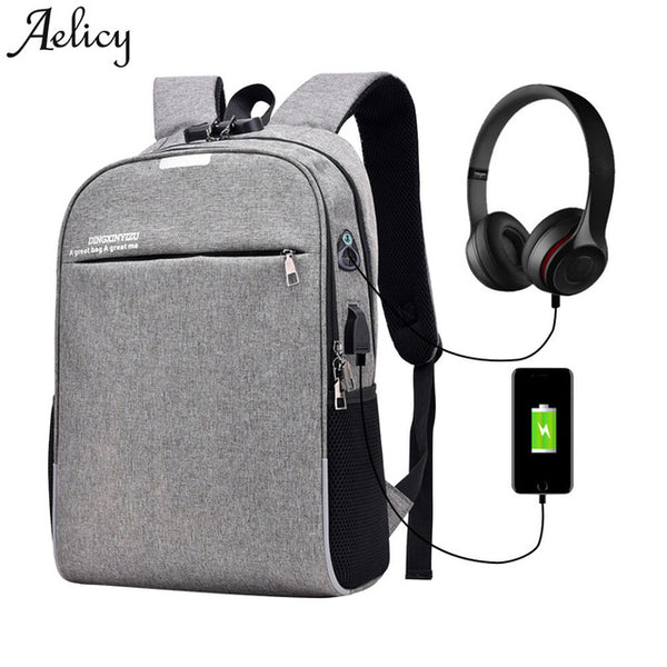 Anti Theft Business Travel Backpack Bags [Aelicy Luminous Bag]