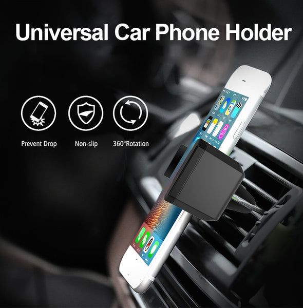ARTSOME Car Phone Holder Air Vent Mount Holder Pop Universal Holder For Phone