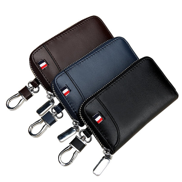 Genuine Leather Wallet & Key Organizer